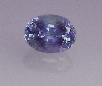 natural alexandrite- purple