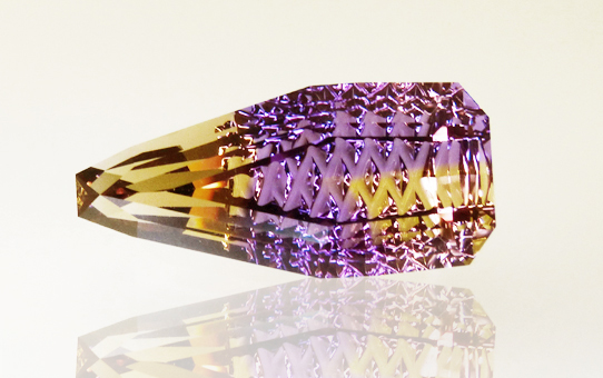 fancy cut ametrine