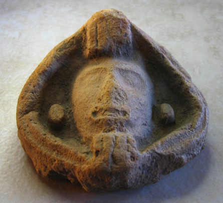 aztec warrior head - coatlinchan