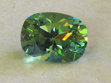 2.02ct demantoid garnet