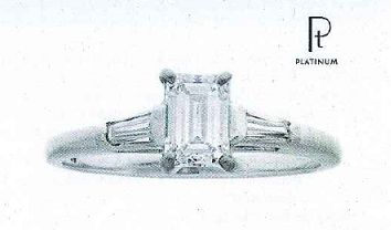 Certed/Appraised Diamond Engagement Ring