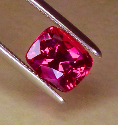 GIA Certed Unheated Ruby