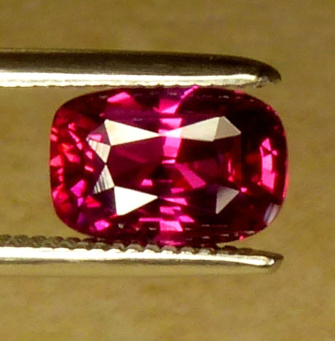 1.39ct unheated ruby (certed)