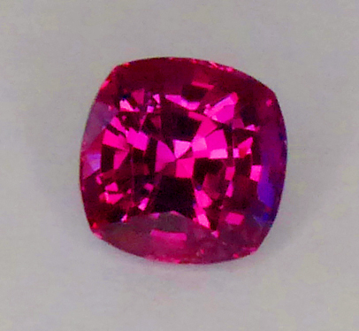 GIA certed purplish red ruby