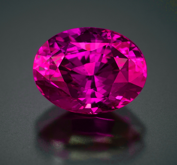 5+ct UNHEATED Purplish Red Ruby - GIA certed