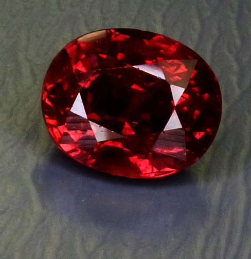 large 3+ct GIA certed Ruby from winza