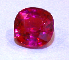 certed unheated ruby from winza