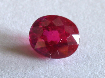 certed unheated ruby from burma