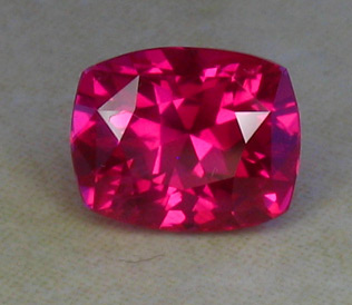 recut screaming pinkish red ruby