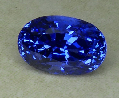 unheated oval sapphire from madagascar