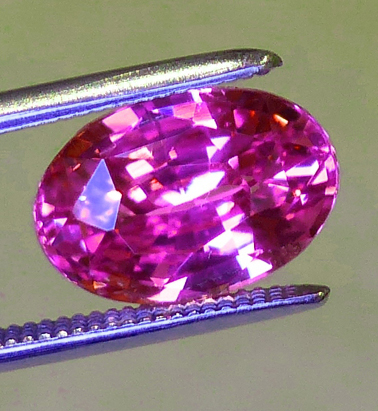 2.60ct oval pink sapphire