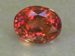 certed orangy pink sapphire