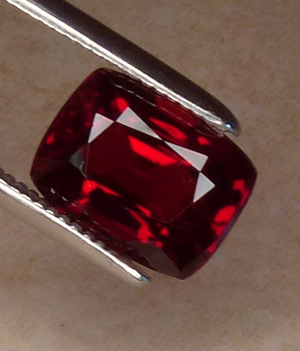 burmese red spinel