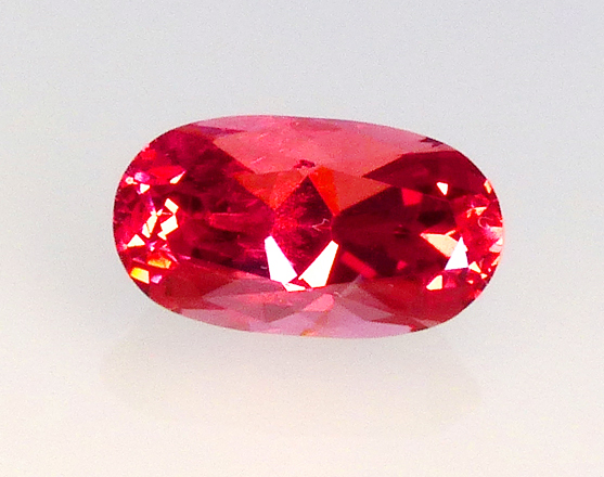 vietnamese reddish orange spinel