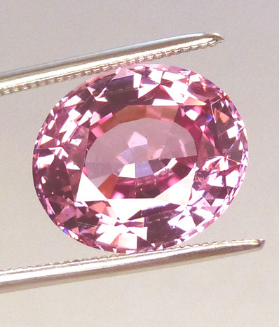 deep pink ice large 6+ct spinel
