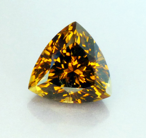 golden orange fancy tanzanite (zoisite)