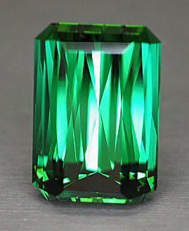 17+ct master faceted mint green tourmaline
