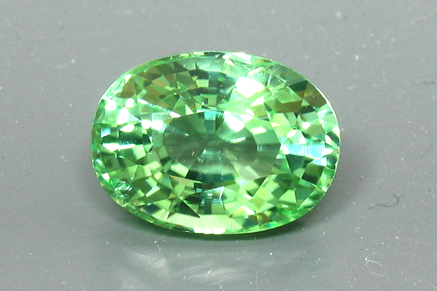 loose c asscher jewelry tsavorite gemstone pale beautiful cut ring color index green