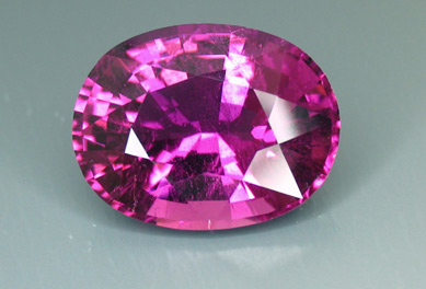 mozambique tourmaline recut by our master cutter