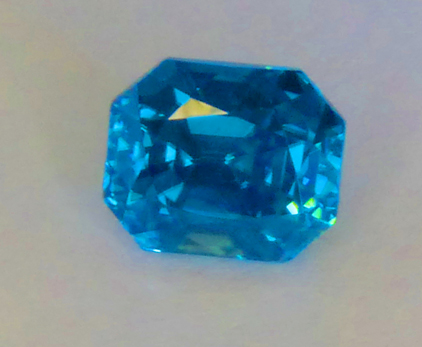 deep blue zircon