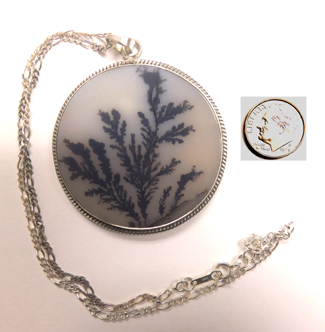 All that glitters unique agate slices dendritic agate pendant dendritic agate pendant aloadofball Choice Image