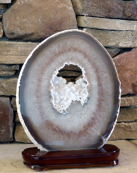 decorator agate slice