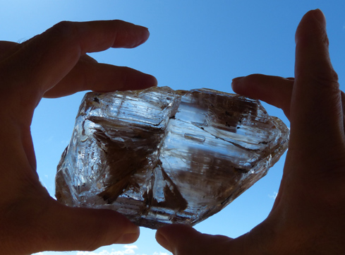 Quartz with Two LARGE Enhydros