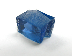 super blue tanzanite rough