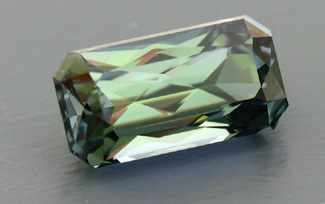 published green tanzanite