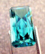 published neon blue tourmaline