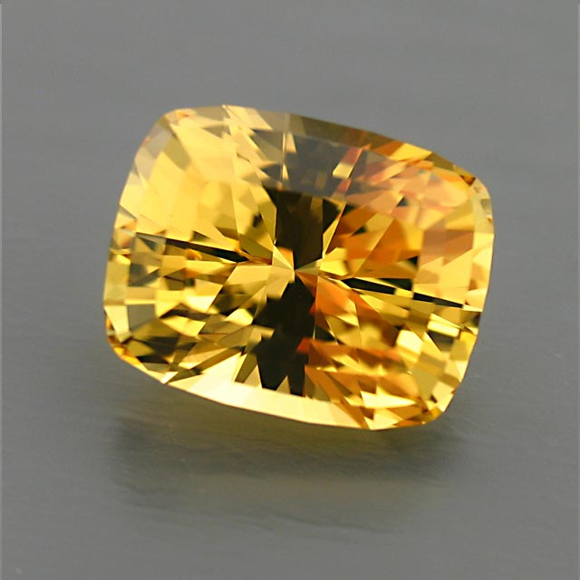 yellow beryl from Tajikistan custom cut