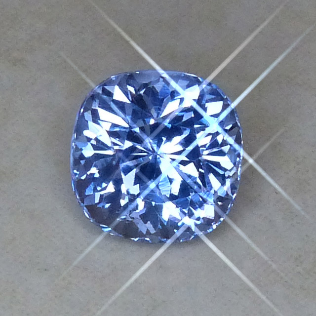 deep powder blue spinel