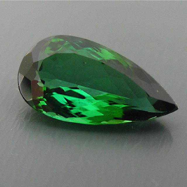 beautiful large green tourmaline
