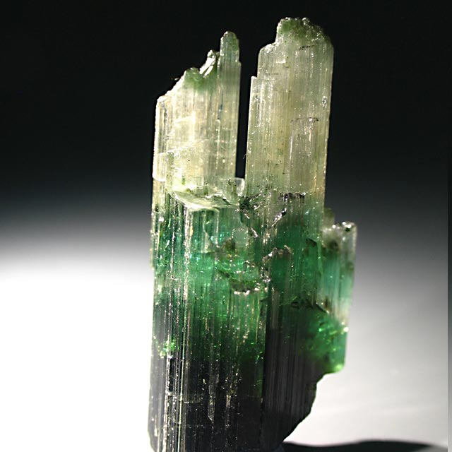 etched tourmaline crystal from Barra de Salinas
